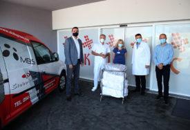 "Human gest radnika ""Sloboproma"" u Banjaluci: Poklonili uniforme zaposlenima na pulmologiji UKC RS"