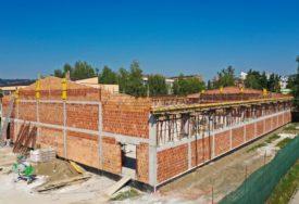 USKORO POD KROVOM  Izgradnja sportske dvorane na Starčevici ulazi u završnicu