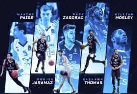DOMINACIJA Pet igrača Partizana u idealnoj petorci Evrokupa