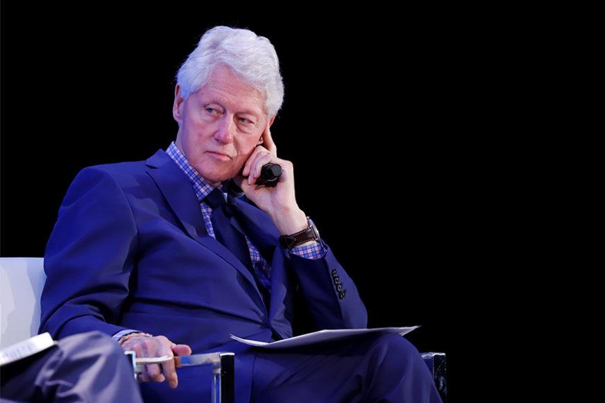 """""""SAVRŠEN GOSPODIN"""" Dosad neviđene fotografije Bila Klintona za žrtvom PEDOFILA MILIJARDERA"""
