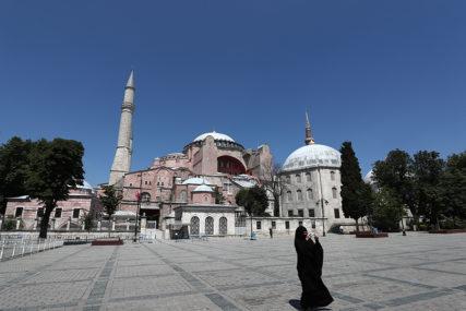 ŽELE MUZEJ DA PRETVORE U DŽAMIJU Erdogan: Kritike zbog Aje Sofije su napad na turski suverenitet