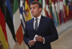 PORUKA RUSKOM PREDSJEDNIKU Makron: Ruska vojna intervencija u Bjelorusiji NIJE POŽELJNA