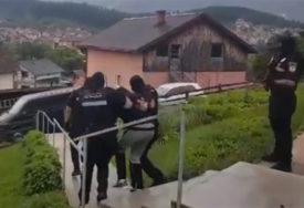 AKCIJA POLICIJE U PALAMA Uhapšen osumnjičeni za ubistvo u Herceg Novom (FOTO, VIDEO)