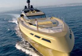 ZA OVAKVE NEMA KRIZE Zlatna jahta vrijedna 28,5 miliona evra pristala u Dubrovnik (VIDEO)