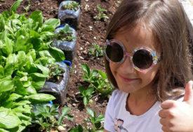 NAJSLAĐE JAGODE Sedmogodišnja Jelica s majkom sadi i reciklira