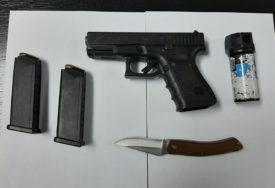 RACIJE U BANJALUCI Policija u kladionici zaplijenila oružje i municiju