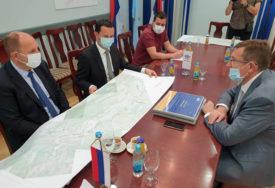 Mitrović u Trebinju: Do kraja godine trasa jadransko-jonske magistrale kroz Hercegovinu