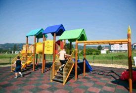 RADOST ZA MALIŠANE Otvoreno novo igralište za djecu u Adi