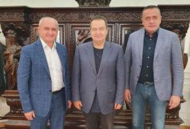 """SASTANAK ĐOKIĆA SA DAČIĆEM I ANTIĆEM """"Čestitke na ostvarenim rezultatima na izborima"""""""