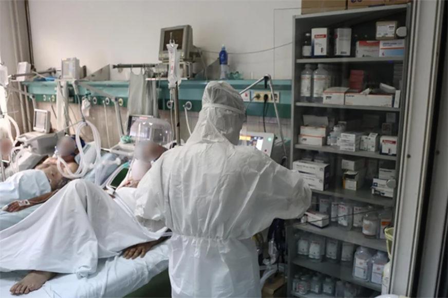 REKORDAN BROJ HOSPITALIZOVANIH Iz dana u dan raste broj oboljelih od virusa korona