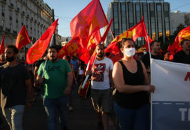 KLJUČA POBUNA U GRČKOJ Zbog zakona o ograničavanju demonstracija hiljade ljudi na ulicama (FOTO, VIDEO)