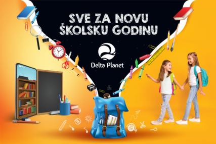 Priprema za školu može biti zabavna uz DELTA PLANET: Popusti i iznenađenja za školarce