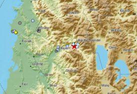 STREPE OD SVAKOG PODRHTAVANJA TLA Zemljotres u Albaniji jačine tri stepena po Rihteru