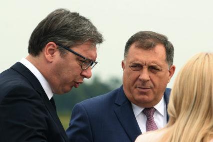 ODGOVORIO NA NAPADE Dodik: Vučić i ja smo učinili najviše da Balkan bude stabilan