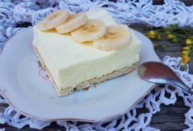 NEODOLJIVE I KREMASTE Banana kocke će vas zasladiti i osvježiti u ove ljetne dane