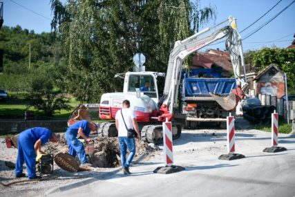 SANACIJA PUTA Počela gradnja kanalizacione mreže u Banijskoj ulici