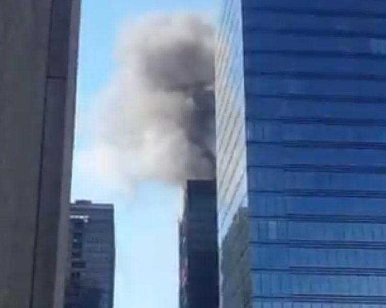 POŽAR U BRISELU Gori zgrada Svjetskog trgovačkog centra (VIDEO)