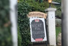 ŠOKIRAO PORUKOM NA VRATIMA Vlasnik kafića u Austriji zabranio ulazak onima koji DOLAZE IZ HRVATSKE