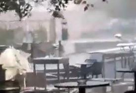 VJETAR NOSIO SVE PRED SOBOM Snažno nevrijeme pogodilo Mostar (VIDEO)