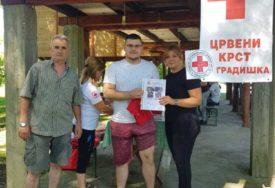 VAŽAN DOPRINOS U VRIJEME KORONE Volonteri Crvenog krsta u Gradiški svakodnevno brinuli o drugima