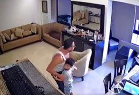 """""""OVO ME DOVELO DO SUZA"""" Otac pokušava da umiri sina nakon DRAME U BEJRUTU (VIDEO)"""