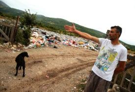 DRVAR ZATRPAN I DOMAĆIM I UVOZNIM SMEĆEM Nova deponija prepuna, stara u minskom polju (FOTO)