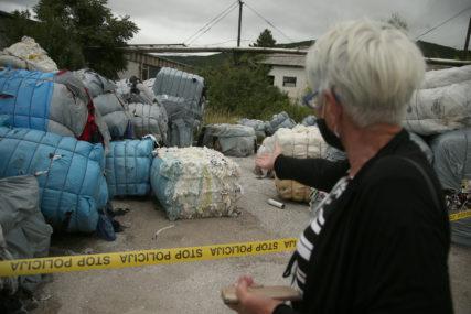 POTREBNO NAJMANJE 14 ŠLEPERA Runić: U toku odvoz nelegalno deponovanog otpada iz Italije