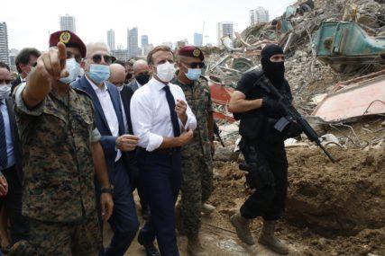 """MAKRON POZVAO MOSKVU ZBOG POMOĆI LIBANU """"Stalne članice Savjeta bezbjednosti UN treba da podrže formiranje nove administracije"""""""
