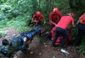 POZVAO POMOĆ JER SE NIJE OSJEĆAO DOBRO Uspješno okončana akcija spasavanja muškarca na Treskavici