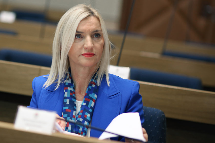 """""""Necivilizovano i bahato"""" Ivanka Marković prozvala Ćosića zbog navodnog nasilja nad ženom"""