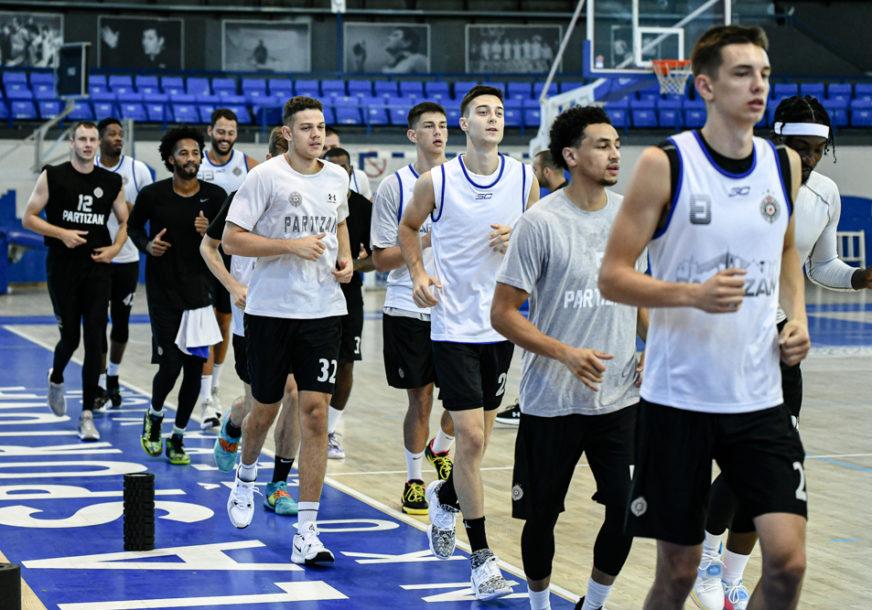 KRENUO PARTIZAN Šćepanović na okupu ima 17 košarkaša