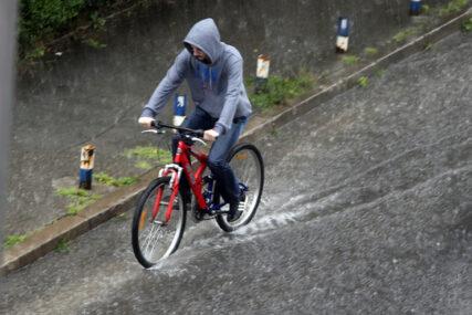 UPOZORENJE Očekuju se velike padavine, moguće bujične poplave