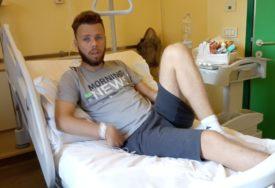 TRKA S VREMENOM ZA LUKIN ŽIVOT Poziv iz Padove stigao oko ponoći, do bolnice udaljene 550 km stigli za četiri i po sata (FOTO)