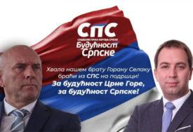 ZA BUDUĆNOST SRPSKE I CRNE GORE Carević zahvalio Selaku na podršci