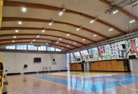 BOLJI USLOVI ZA SPORT Nova rasvjeta u dvorani u Milićima uz manju potrošnju struje