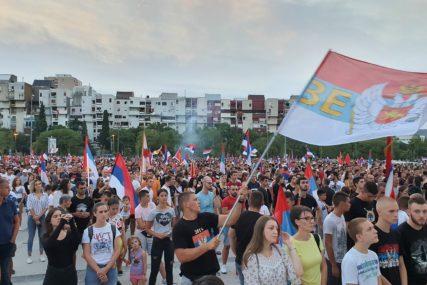OPOZICIJA POZVALA NA UZDRŽANOST Pobjedu slaviti kod kuća, ne na ulicama