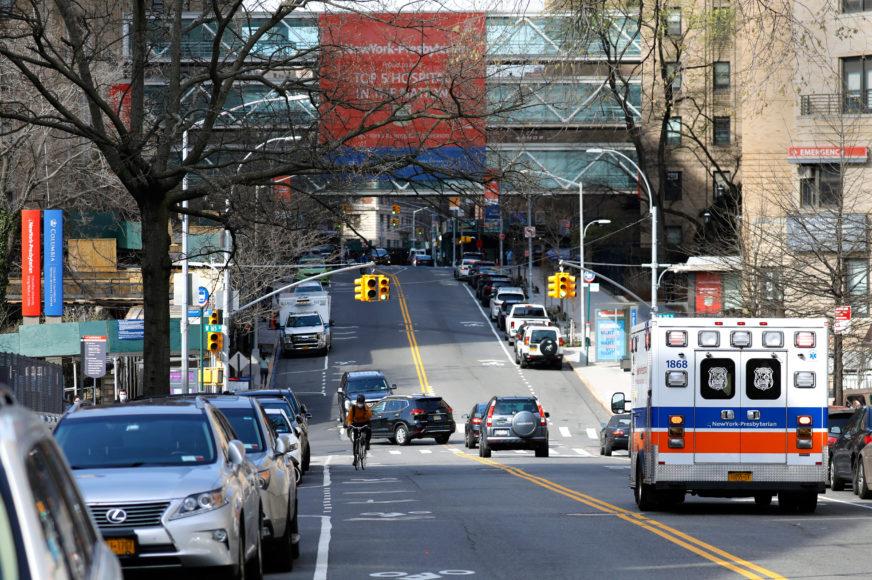 MJERE PROTIV ŠIRENJA ZARAZE Njujork postavlja kontrolne punktove na ulazu u grad
