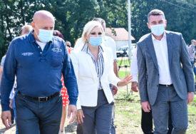 """OTVARANJE U SEPTEMBRU Mihajlović posjetila lokacije aerodroma u Pranjinama i kompleksa """"Halijard"""""""