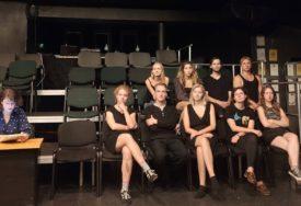LEKCIJA IZ SRPSKE ISTORIJE Litvanski studenti na projekciji filma Sime Brdara