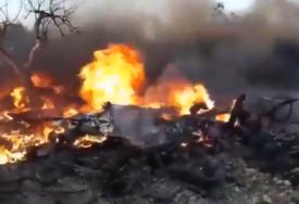 OBJE LETILICE POTPUNO UNIŠTENE Sudarila se dva američka drona u Siriji (VIDEO)