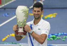 """NOVAK POKAZAO SNAGU """"Trofej odlična priprema za US open"""""""