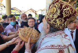 KUMOVAO NAČELNIK PERIĆ Obilježeno 110 godina od osnivanja crkvene opštine Ugljevik