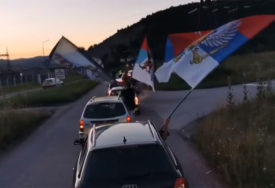 AUTO-LITIJE U CRNOJ GORI Građani jasno i glasno poručili da NE DAJU SVETINJE (VIDEO)