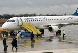 SAMO ZA VIP SALON OKO 400.000 EVRA Aerodromi u Podgorici i Tivtu biće modernizovani za veći komfor putnika