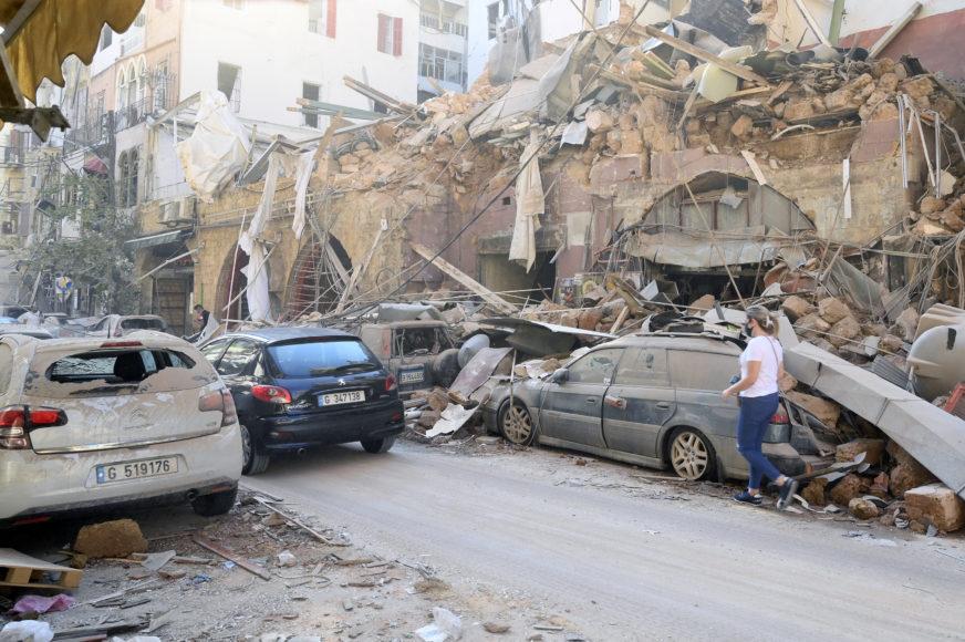 JEDNA ISKRA DOVOLJNA? Da li ova slika otkriva UZROK STRAVIČNE EKSPLOZIJE u Bejrutu (FOTO)