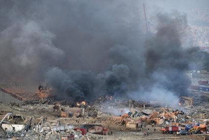 POVRIJEĐENE STOTINE LJUDI Bjerut nakon mega eksplozije izgleda kao da je pala ATOMSKA BOMBA (VIDEO)