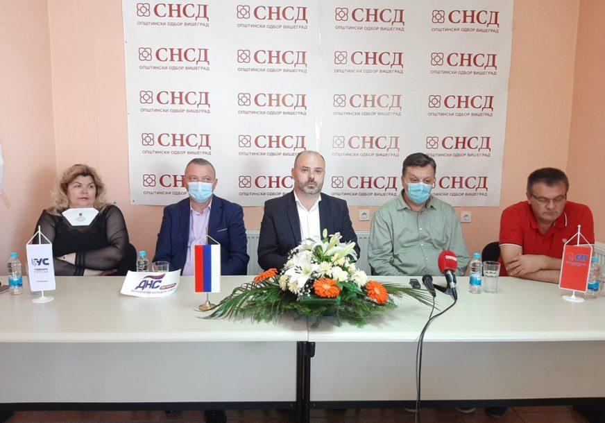 ĐUREVIĆ ZA NAČELNIKA VIŠEGRADA Kandidata SNSD podržali DNS, SP i  Ujedinjena Srpska