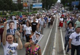 PROTEST ZBOG HAPŠENJA FURGALA U Habarovsku i dalje masovne demonstracije