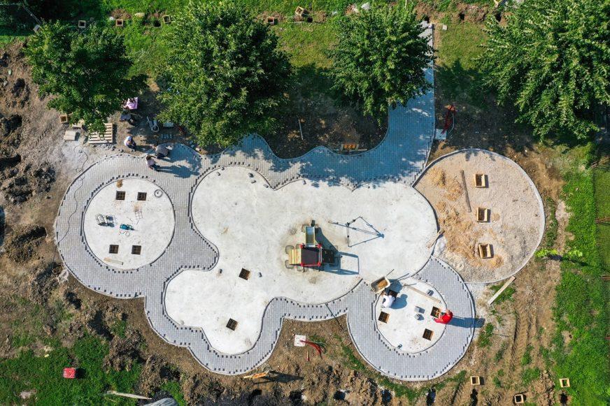 IZGRADNJA U ZAVRŠNICI Mališani Lazareva uskoro dobijaju novo igralište