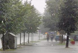 NESTABILNO I DANAS Poslije podne obilnija kiša i pljuskovi sa grmljavinom